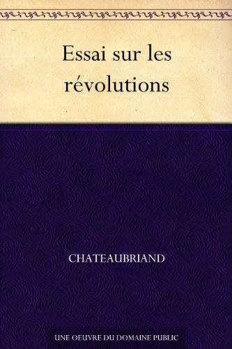 Essai sur les révolutions