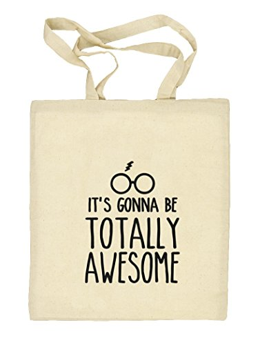 Shirtstreet24, Totally Awesome, Harry Natur Stoffbeutel Jute Tasche (ONE SIZE) Natur