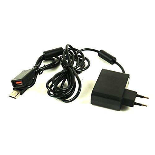 Childhood Adaptador de corriente de repuesto de cargador de fuente de alimentación Adaptador de CA de cable de alimentación para sensor de Kinect XBOX360
