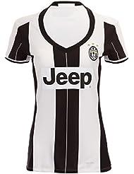 Femmes de Nouvelle Saison juventu Paul Pogba Gianluigi Buffon Giorgio Chiellini Claudio Poids Home Jersey de Football de football en blanc Large blanc
