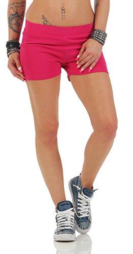 Gennadi Hoppe Pantalons chauds pour femmes Hotpants Rose