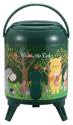 M Green M-5265 captain stag (CAPTAIN STAG) water jug 3L Pooh (japan import)