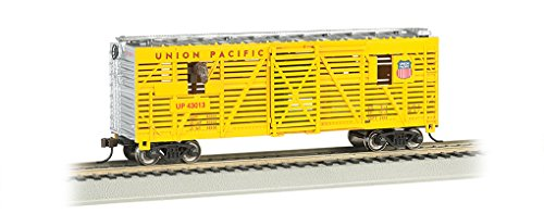 bachmann-40-animated-stock-car-union-pacific-with-horses-ho-scale