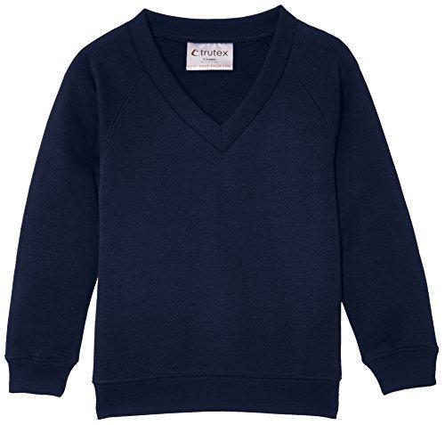 Trutex Limited Unisex Sweatshirt 260G Crew Neck Blau (Bleu Marine)