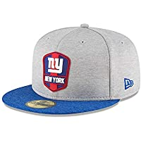 New Era New York Giants NFL Sideline 18 Road On Field Cap 59fifty Fitted OTC d12b56e0a