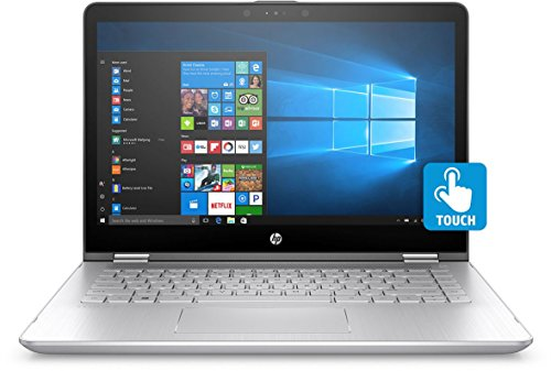 HP Pavilion X360 11-AD022TU Laptop (Windows 10, 4GB RAM, 1000GB HDD) Natural Silver Price in India