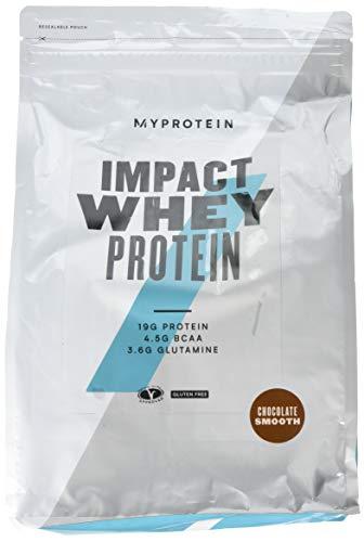 Myprotein Impact Whey Protein Chocolate Smooth, 1er Pack (1 x 2500 g) -