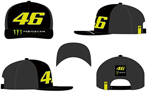Imagen de vr46 ' visera plana ajustable valentino rossi 46 monster alternativa
