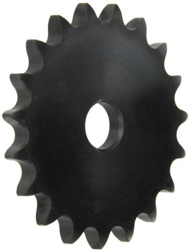 Browning 40A19Teller Roller Kettenrad, Single Strand, Typ A Hub, Stahl, 5/20,3cm Fischbestand Bohrung, 19Zähne -