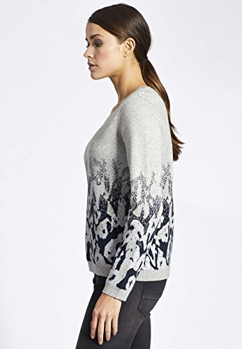 khujo - Pull - Manches Longues - Femme Small gris clair