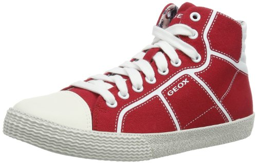 Geox - J Smart B. A, Sneaker Bambino Rosso (Red - Rot (RED C7000))