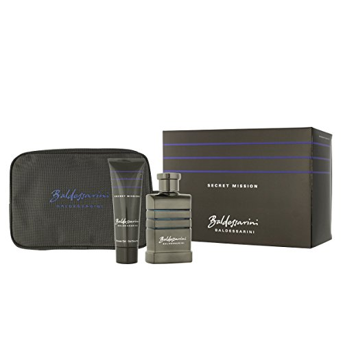 Baldessarini Secret Mission EDT 90 ml + SG 50 ml + Kosmetiktasche (man)