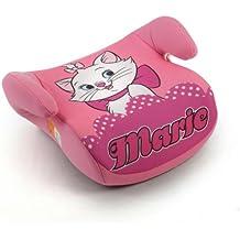 Disney Piku NI20.6030 - Asiento elevador de coche para niños de 15-36 kg, diseño Marie, color rosa