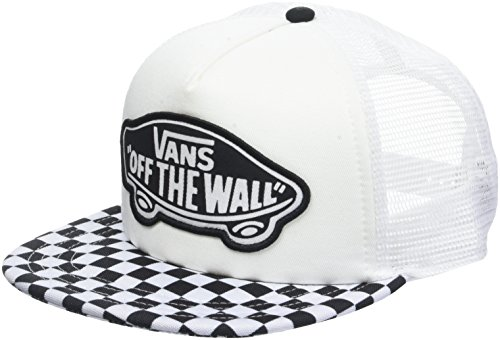 Vans_Apparel Damen Baseball Cap Beach Girl Trucker HAT Schwarz (Black-White Checkerboard 56M) One Size