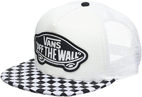 Imagen de vans_apparel beach trucker hat  de béisbol, negro black white checkerboard 56m , talla única para mujer