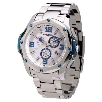 Jorg Gray JG9100-15 - Men's Swiss Chronograph Watch, Date Display, Sapphire Crystal, Stainless Steel Bracelet