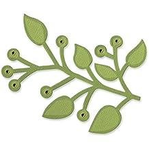 Fustella Rami ramo con foglie 656212 Big Shot Sizzix per feltro cartoncino pelle alluminio carta Ellison