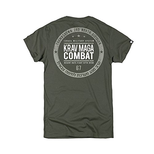 Thumbsdown Thumbs Down Krav MAGA Combat T-Shirt  Israel