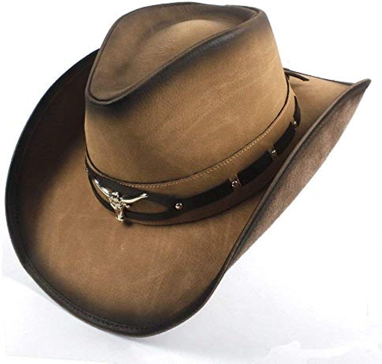 Berretti Hat Hat Hat Hat Hat Hat Western Jazz con da Grazioso Cappello Hat  con Jazz Testa di Toro Moda E Berretti Parent 5d0133 03ed07f4d427