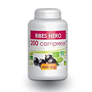 Ribes Nero - Box di 200 compresse da 400 mg