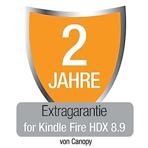 Extragarantie [2 Jahre] mit Unfall- und Diebstahlschutz für den neuen Kindle Fire HDX 8.9, nur Deutschland