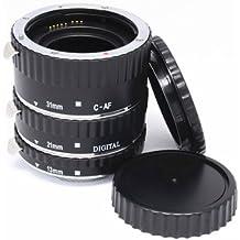 Mcoplus-  tubo de extensión automático Macro para Canon 5D Mark II III 6D 7D 50D 60D 70D 550D 600D 1100D Rebel T3i T4i T5i