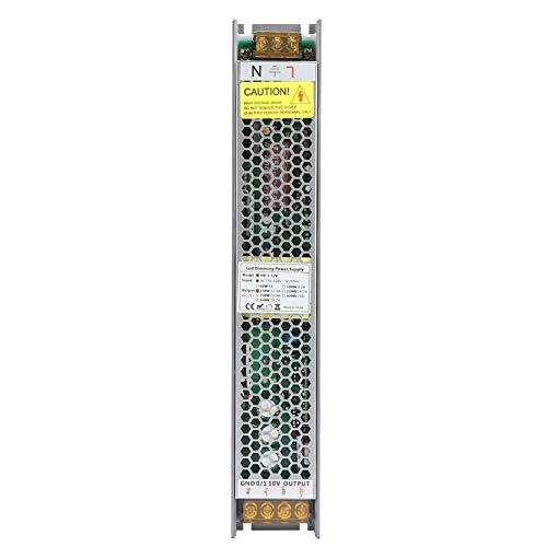 Dimmnetzteil, PWM Intelligenter dimmbarer Transformator für LED-Lichtstreifen(12V12.5A) -