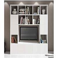 Amazon It Porta Tv Moderno Librerie Soggiorno Casa E Cucina