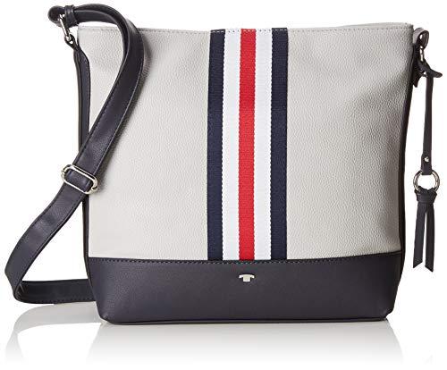 TOM TAILOR für Frauen Taschen & Geldbörsen Hobo-Tasche Sydney Grey, OneSize