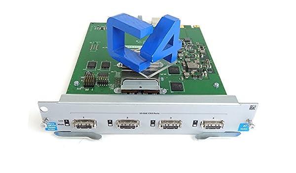 J8708-69001 J8708-6910/â/€/‹1 J8708-61201 HP J8708A 4-Port 10-gbe Cx4 Module