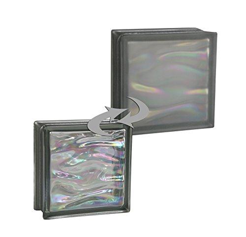 6-piezas-bm-bloques-de-vidrio-agua-perla-antracita-satinado-por-un-lado-vidrio-mate-19x19x8-cm