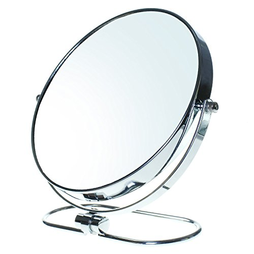TUKA Miroir Maquillage Pliable, x7 Grossissement, 8\
