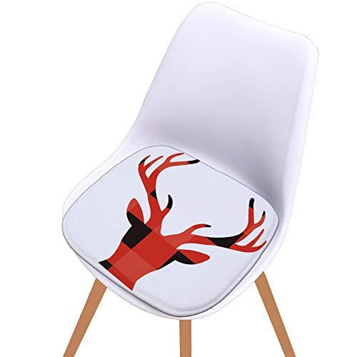 Patio Kissen (Yonlanclot Weihnachtsgedächtnis-Stuhl-Sitzauflage-weiches Kissen, das Patio-Innenministerium-Dekor speist)