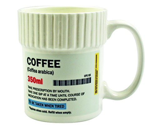 "Gift Republic ""Coffee"" Pill Pot Mug 41GumhP7bOL"