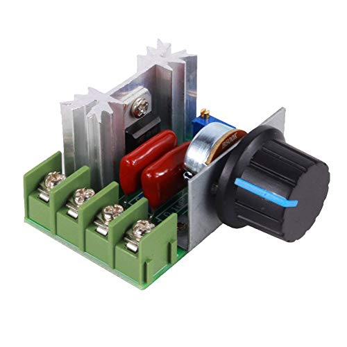 Yosoo PWM AC Motor Speed Kontrolle Controller 2000 W Spannungsregler 50-220 V 25 A LED Dimmern - Motor Speed Controller