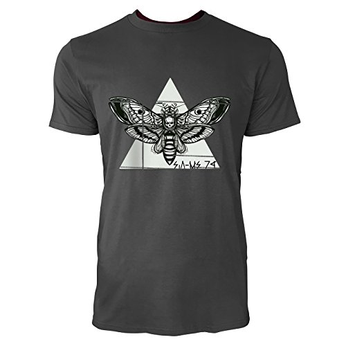 sinus-artr-motte-mit-totenkopf-herren-t-shirts-in-smoke-fun-shirt-mit-tollen-aufdruck