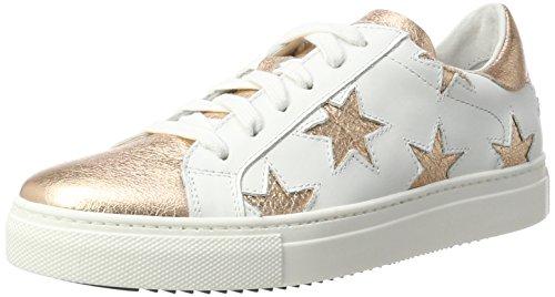 fa7c8f511c87a Stokton Women s Low-Top Sneakers Multicolor (White Rosegold) ...