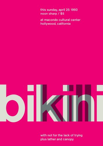 Bikini Kill @ Hollywood