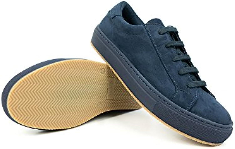 Mens Colour Sneakers Navy Blue - En línea Obtenga la mejor oferta barata de descuento más grande