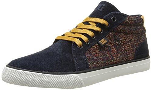 DC Shoes Council Mid Se, Baskets mode homme, Bleu (Nvy), 39