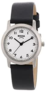 Boccia Damen-Armbanduhr Leder 3170-01