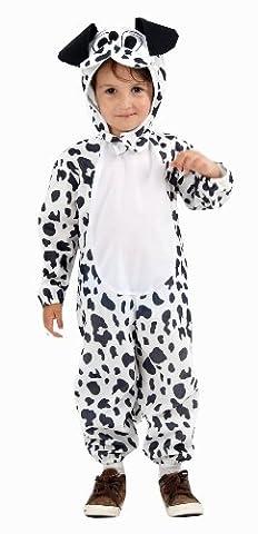 dalmation Hund Kostüm 3 Jahren (Dalmatiner-kostüm Für Kleinkind)