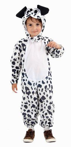 dalmation Hund Kostüm 3 (Kostüme Overall Kleinkind Dalmatiner)