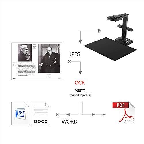 CZUR ET16 Plus Scanner mit Einknopf-Bedienung Dokumentenscanner für Bücher Dokumente Materialien Bilder - 3