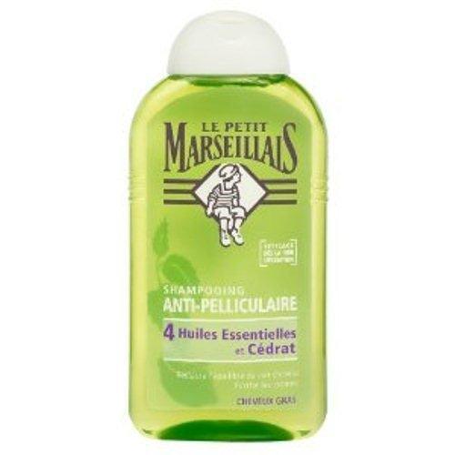 Le Petit Marseillais : Antischuppenshampoo für fettiges Haar mit Zeder, Thymian, Rosamrin, Kamille und Zitrone