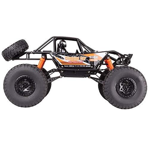 AYYJ Off-Road 4WD Big Truck 19 Zoll große 1:10 Skala schwarz Modell LKW elektrische Fernbedienung Spielzeug Hobby Spielzeug s Zwei Packungen Batterie Geburtstagsgeschenk für 12-jährige Jungen
