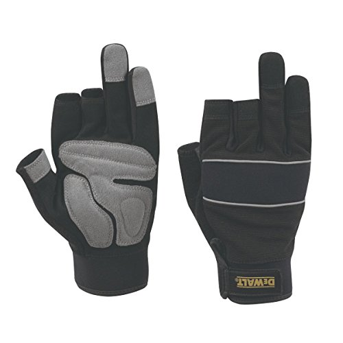 3-finger-framer Glove (DeWalt Performance Performance 3-Finger Framers Gloves Black/Grey Large by DEWALT)