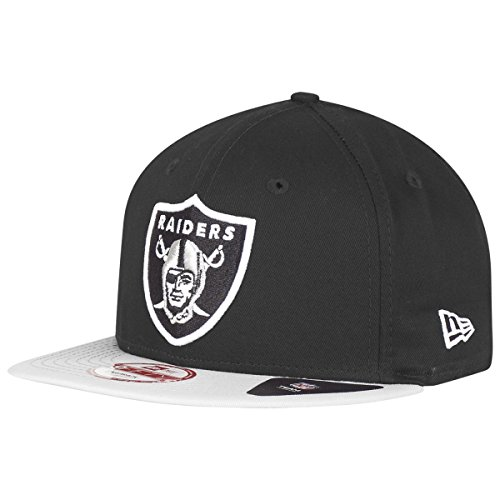 89877ba5c New Era NFL Cotton Block Oakland Raiders 9 Fifty Snapback Black Grey –  Baseball Cap