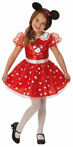Rubie's Disney Kinder Kostüm Minnie Mouse Maus Karneval 3 bis 4 ()