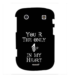 Fuson Premium D13103 Printed Hard Plastic Back Case Cover for BlackBerry Bold Touch 9930